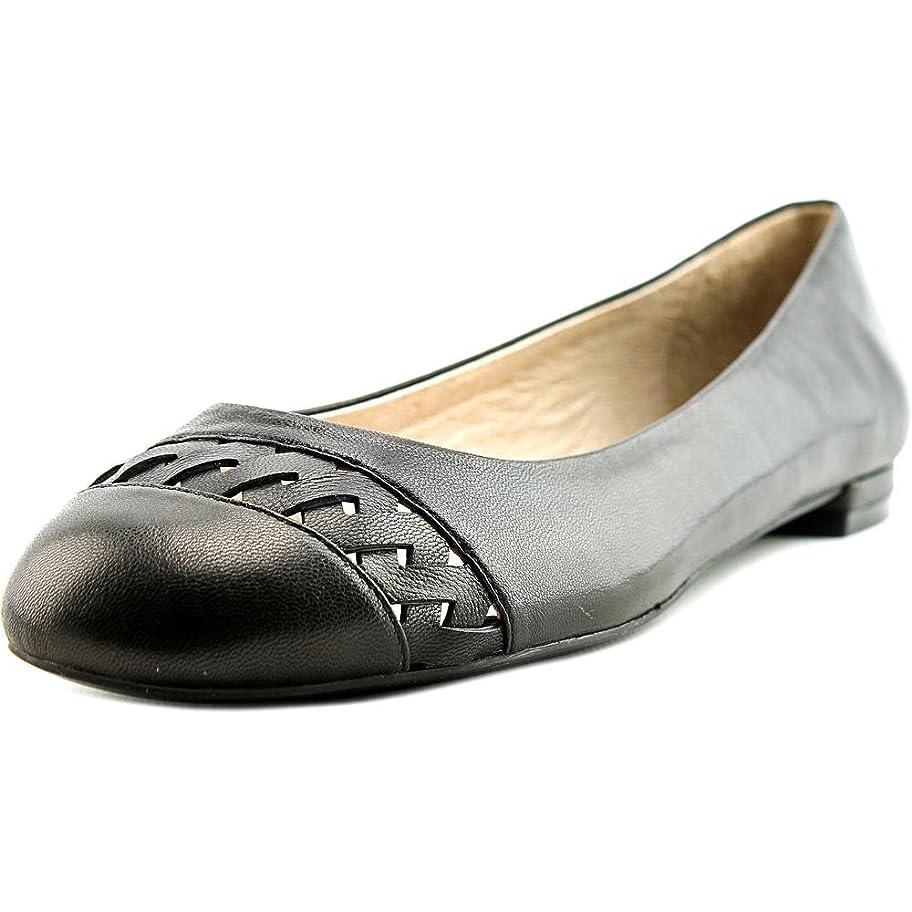 屋内マルクス主義者タクシーNina Womens Marley Round Toe Slide Flats