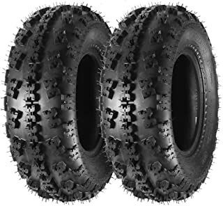 MaxAuto Set of 2 21X7-10 21x7x10 Sport ATV Tires 4PR Tubeless