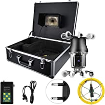 LCD Endoscopic Camera 7in 50M 360° Sewer Industrial Endoscopic IP68 38LED Inspection Drain Pipe Borescope Camera 100-240V EU