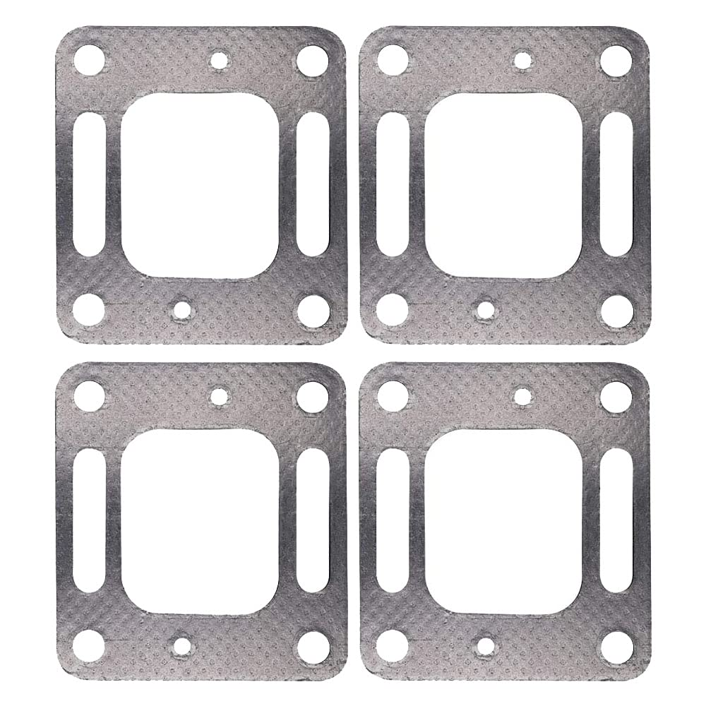 Ohoho 4 Pack Set online shop 18-0897 Exhaust Elbow Deluxe Restricted C Riser Gasket