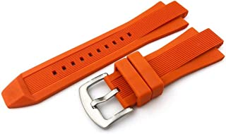 Orange Rubber Silicone 13x29mm Strap Band fit Mic. Kors Watches