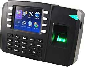 Time Attendance Machine Office Electronics Fingerprint Time Record with Access Control System, and Support Photo ID and WIFI