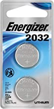 Energizer Lithium Coin Watch/Electronic Battery 2032, 2-Count