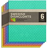 Best Dish Cloths - cce Swedish Dishcloths Cellulose Sponge Cloths for Kitchen Review
