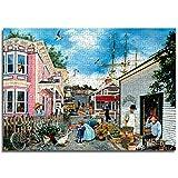 Mental Puzzle Ciudad marinaPiece Art se puede personalizar Puzzle de papel 75x50cm