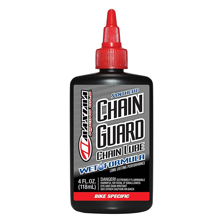 これら疫病ギャンブルMaxima Bike Synthetic Chain Guard Wet Formula Drip Lube, 4 oz by Maxima
