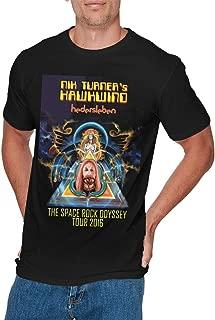 Mens Particular Hawkwind T Shirt Black