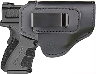IWB Holster Fits: XD MOD.2 3″ 3.3″ SUB Compact Model 9mm .40sw .45ACP / XD 3″ / Xdm 3.8″ Compact and Full Size/XDS 3.3″ Single Stack/XDE 3.3″ - Inside Waistband Concealed Carry