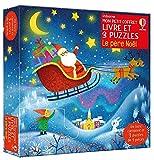 Le père Noël - Mon petit coffret Livre et 3 puzzles: Un livre et 3 puzzles