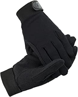 Horze Fleece Gloves with Silicone Grip