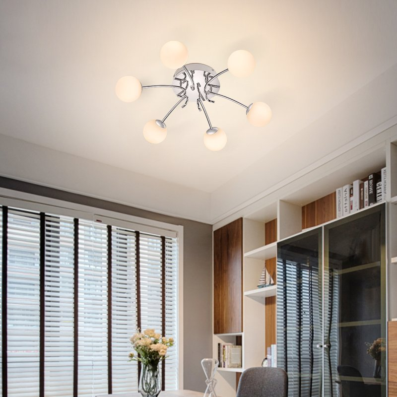 Paulmann 德国柏曼 简约现代客厅吸顶灯 创意家用高档卧室灯温馨儿童房灯