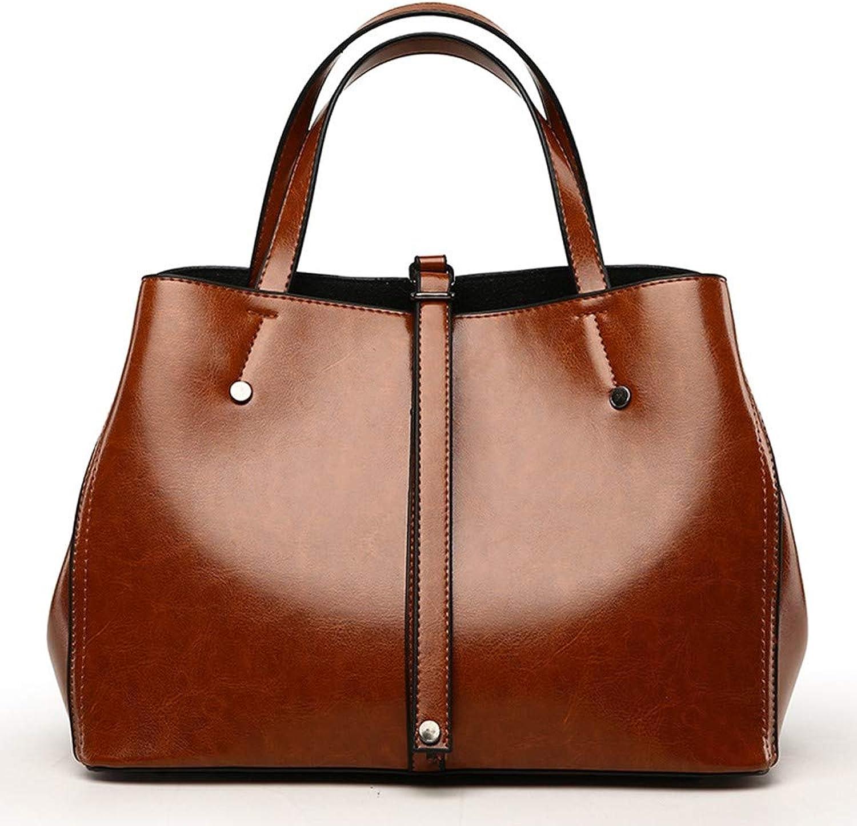 ZLULU Damen-Schultertaschen Damenhandtaschen Handtasche Schulter Schulter Schulter Umhängetasche Eimer Tasche Pu Handtasche B07L3BQZWX  Vielfalt 270f2b