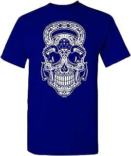 Manateez Gym Rat Sugar Skull Tee Shirt