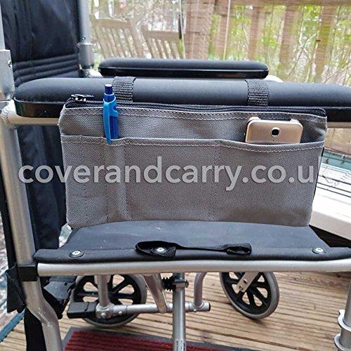 Armlehne Organizer für Verwendung mit Mobilität Scooter, Rollstühle und Wanderer
