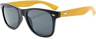 Óculos de Sol Luke Amadeirado Quadrado Masculino C/ Proteção Uv400