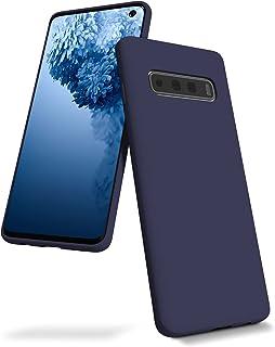 Goospery Liquid Silicone Case for Samsung Galaxy S10 Plus (2019) 6.4 inch Jelly Rubber Bumper Case with Soft Microfiber Li...