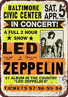 Best led zeppelin signs Reviews