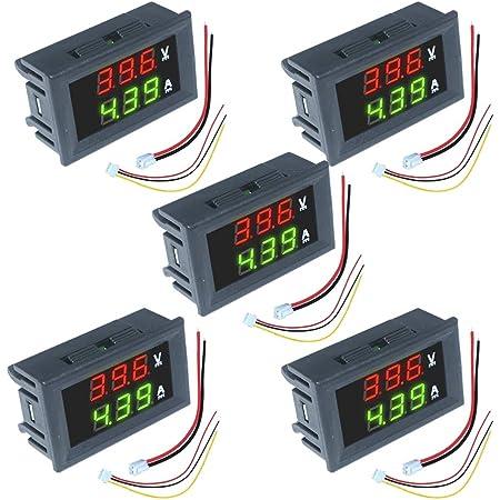 0-100V 10//50A LED Digital Voltmeter Spannungsanzeige Amperemeter Strommesser A