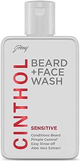 Cinthol 2-in-1 Beard Wash + Face Wash – SENSITIVE, 100ml