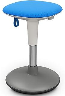 Tabouret à Bascule, Tabouret de Bureau, Chaise de Bureau réglable en Hauteur, Tabouret de Bureau Debout pour Une Assise Dy...