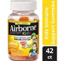 Airborne Kids Gummies, 42 count - Vitamin C 667mg - Immune Support Minerals & Herbs,  Antioxidants (Vitamin A, C & E), Gluten-Free, Assorted Fruit Flavour