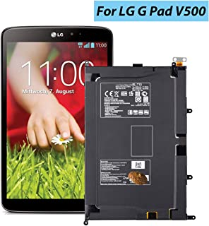 Shidai BL-T10 Replacement Battery Compatible with LG G Pad 8.3 in Table V500 VK810 Series with Tools