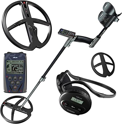 XP DEUS Metal Detector + Wireless WS4 Headphones + Controller and 11 inch Coil