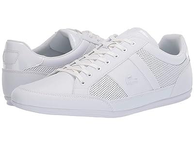 Lacoste Chaymon 120 3 (White/White) Men