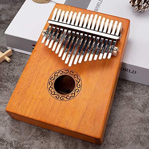 RYDZTMZ Tragbare Mini-Daumenklavier, Finger Piano Kalimba, 17-Ton (Color : 1)