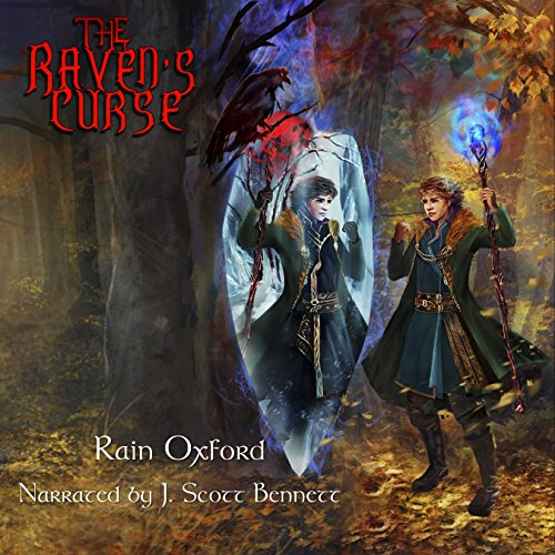The Raven's Curse audiobook cover art