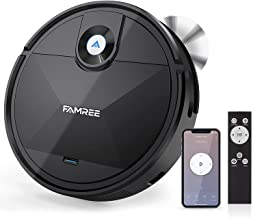 MT-200 Robot Vacuum Cleaner, 1800Pa Strong Suction WiFi/App Self-Charging Robotic Vacuums Quiet Mini Vacuum Cleaner for Pe...