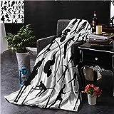 Searster$ Fleece Blanket Olympics Outdoor Decke Boxen Hantel Sport Schlafzimmer Schlafsofa Babybett...