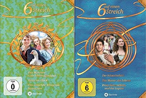 Sechs auf einen Streich - Märchenbox 14-15 (6 DVDs)