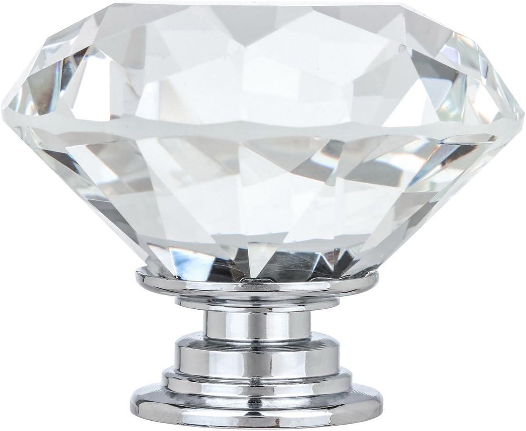Kingsman Crystal Popular overseas Series Clear K9 Polished Chrome Ba High quality new with