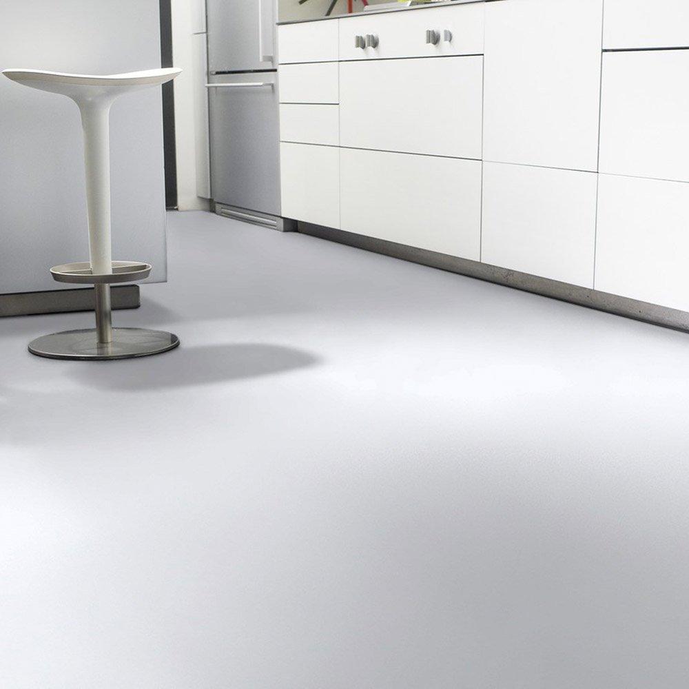 livingfloor/® PVC Bodenbelag Fotohintergrund Einfarbig Uni Schwarz 2m Breite Gr/ö/ße:1.50x2.00 m L/änge variabel Meterware