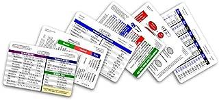 Mini Nurse Horizontal Badge Card Set - 6 Cards