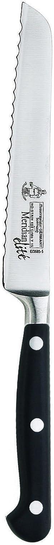 Messermeister Meridian Elite Scalloped Utility Knife, 5-Inch
