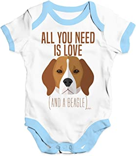 All You Need is A Beagle Baby Unisex Funny Baby Grow Bodysuit