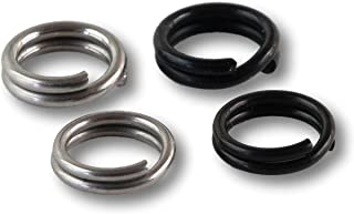 River Guide Supply Stainless Steel Split Rings 100 Count Pack USA Made