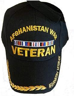 Afghanistan WAR Veteran Baseball Style Embrodered Hat Ball Cap Usa Vet Iraq