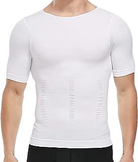 Men Shapewear Vest Seamless Abdomen Slim Shirt Classic Abs Body Shaper