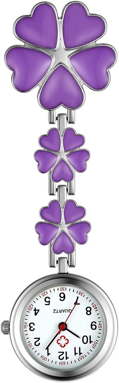 Avaner Women's Clip Ranking TOP7 on Fob Watch Limited price sale Stainless Steel Quartz W Nurse