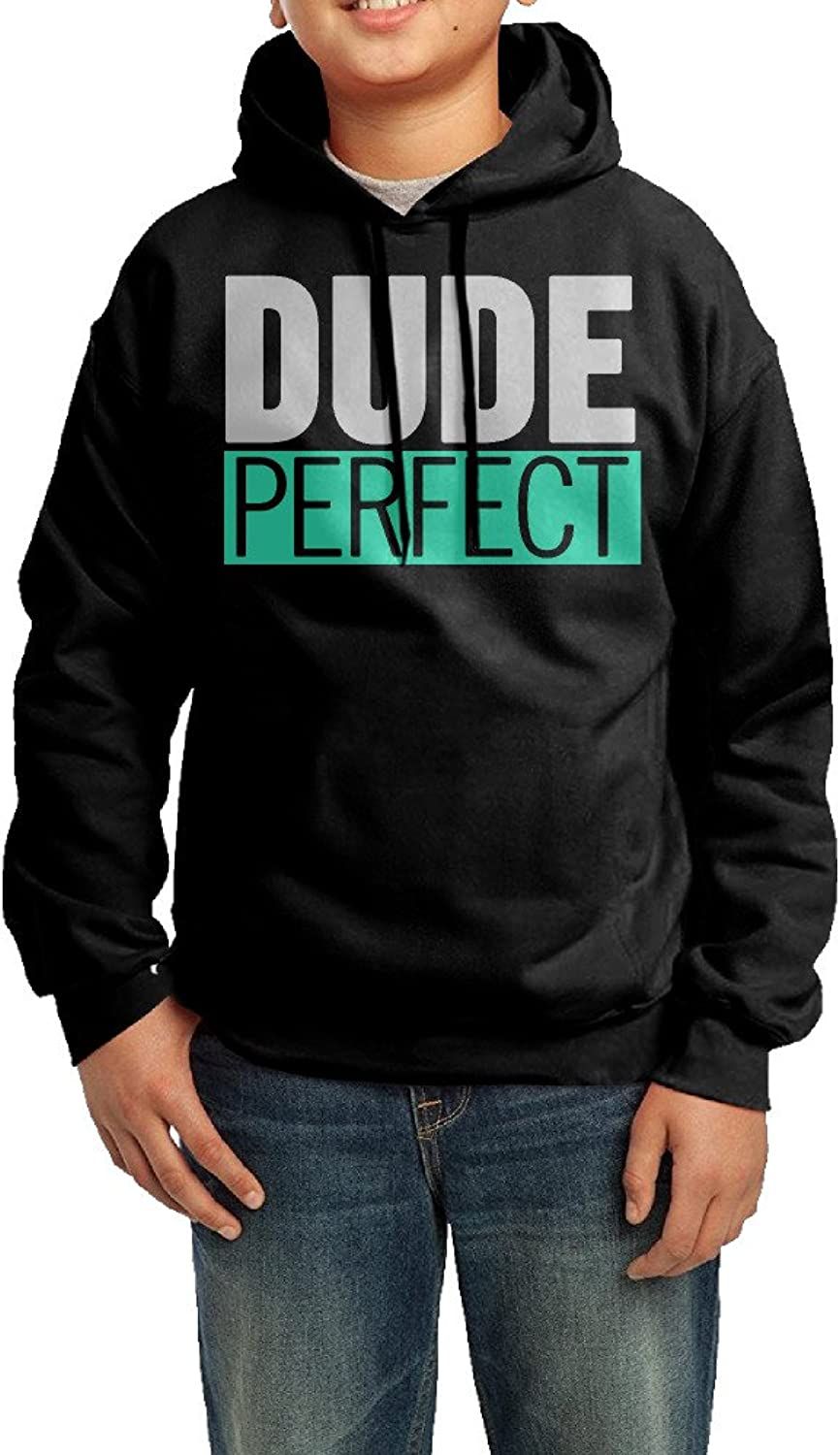 YHTY Youth Unisex Hoodies Dude Action Figure Perfect Black