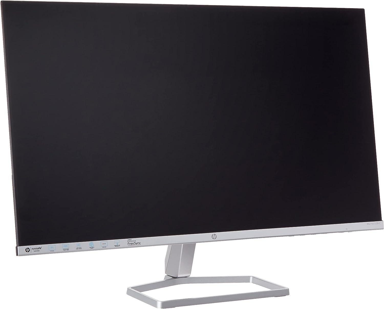 HP M27fd FHD 65w USB-C Monitor - Works With Chromebook - Computer Monitor with 27-inch IPS Display(1080p)- Eyesafe & 99% sRGB - AMD Freesync- HDMI, VGA & USB-C - Borderless Design- Tilt Adjust - Black