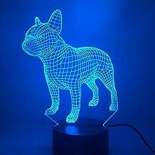 Luz de Color para Perros, luz de Noche, lámpara de Mesa táctil para niños, luz de Noche para Dormir para bebés, luz Deportiva, Barco de Goteo