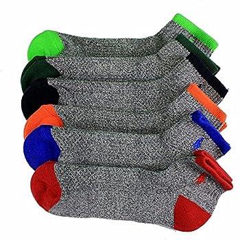 Polo 6 Pack Quarter Grey Sock