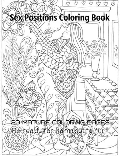 Sex positions coloring book 20 mature coloring pages Be ready for kamasutra fun product image