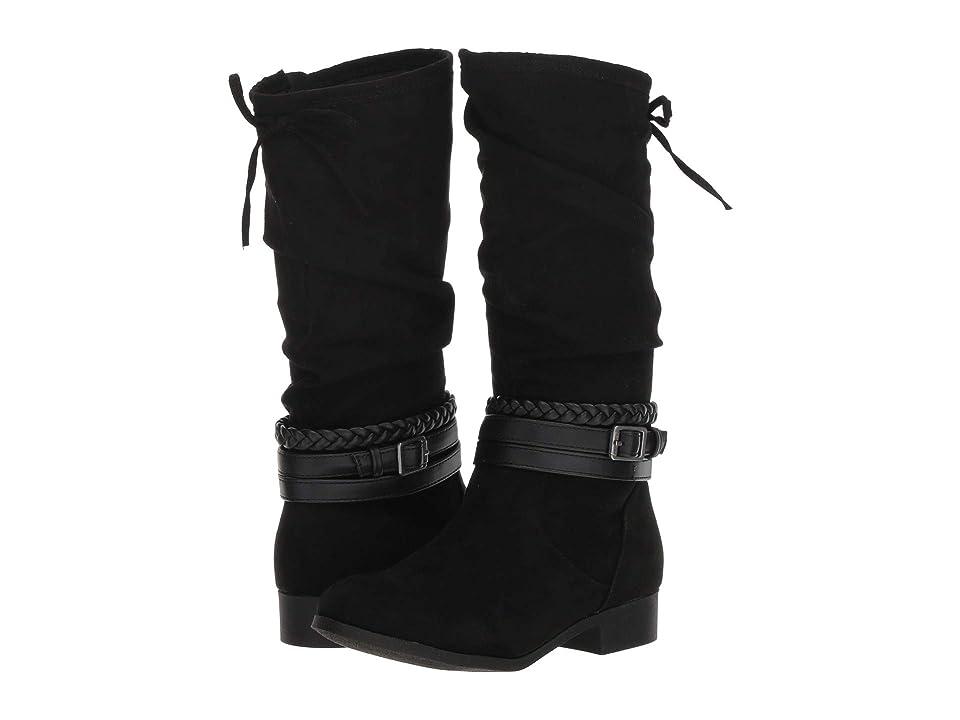 Nine West Kids Altah (Little Kid/Big Kid) (Black Microfiber) Girls Shoes
