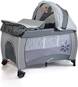 TSWCBYY Baby Bed  Foldable Baby Play Bed Colors Available