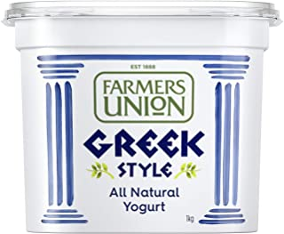Farmers Union Natural Greek Style Yoghurt, 1kg - Chilled